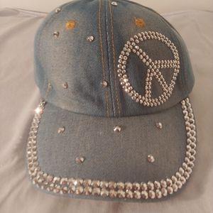 Woman's peace jean hat